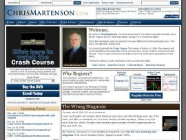Visitor Home Page