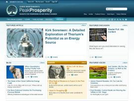 Peak Prosperity Home Page