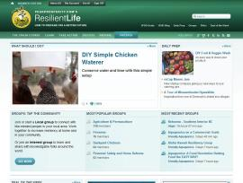 Resilient Life Home Page