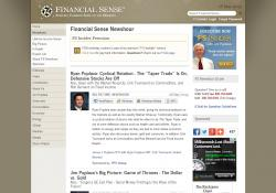 Financial Sense Newshour